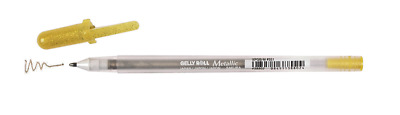 Sakura GELLY ROLL METALLIC PEN WHITE/SILVER/GOLD YOU CHOOSE Fade Resistant