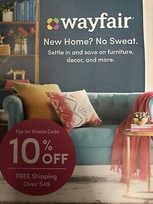 Wayfair 10% Off  1 Coupon Online Valid Thru 5/31/19