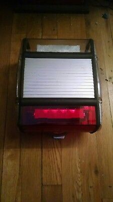 Federal Signal Micro-Escape LED mini lightbar Red - Demo Unit, works great!!