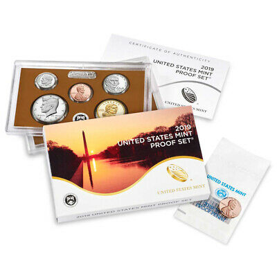 2019 US Mint Proof Set (19RG)