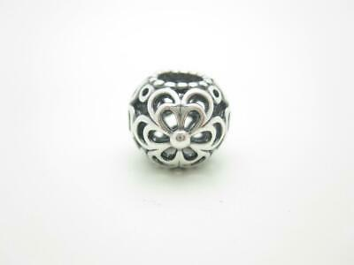 Pandora Sterling Silver Enamel Flower Bead Charm ~ 3.8 Grams ~ 4-h1129 Jewelry & Watches