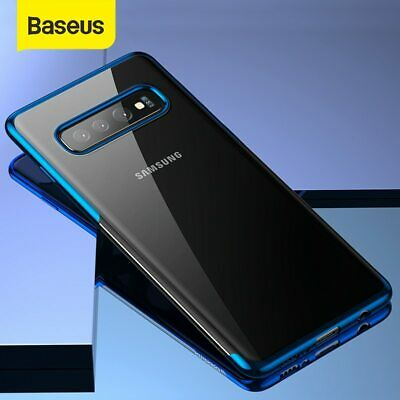 Baseus Luxury Plating Case Coque Ultra Soft TPU Silicone For Samsung S10 S10+