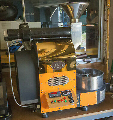 """1kg Coffee Roaster """"JYR"""" Electric 240V 15A With Chaff Collector VGC"""
