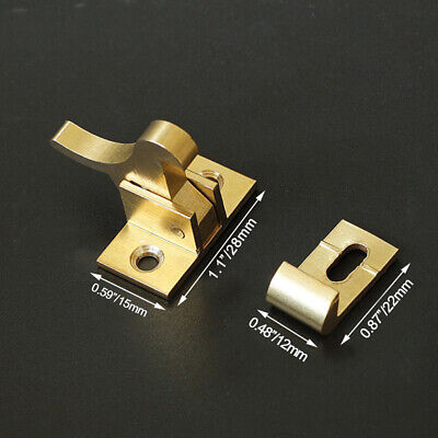 Brass Bird Barrel Push-Pull Window Hooks Bolt Buckle Latch for Door Window LG