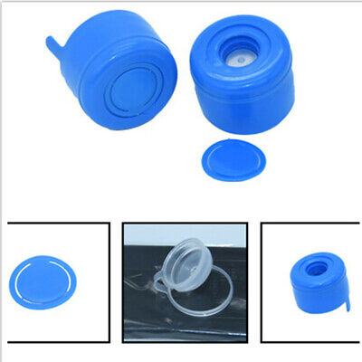 10 Pcs Reusable Non Spill Water Cap Gallon Water Bottle Caps Lid Drinking