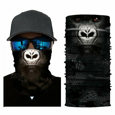 Soft Multifunctional Seamless Outdoor Cycling Magic Scarf Ride Mask Face To E3