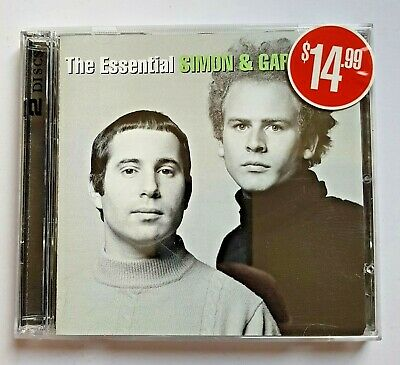 SIMON & GARFUNKEL The Essential 2CD BRAND NEW Best Of Greatest Hits Paul Art