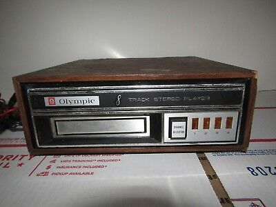 Olympic TD-20 8 Track Player - Tested and working! Made in Japan