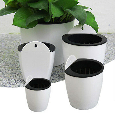 Automatic Water-absorbing Flower Pots Creative Multi-meat Plant Hydroponi B
