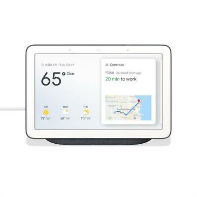 Google Nest Hub 7  Touchscreen w/ Smart Home Assistant Charcoal - Hands free voi