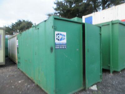 16ft x 8ft SHIPPING CONTAINER, STORAGE CONTAINER, STEEL CONTAINER, £950 + VAT