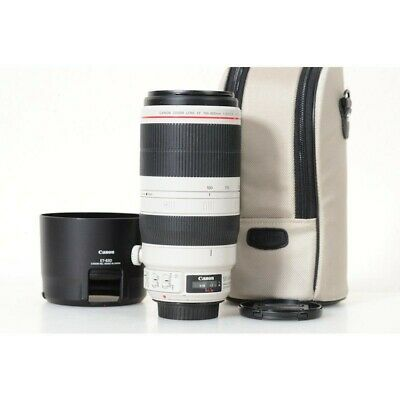 Canon EF 100-400mm f/4.5-5.6L IS II USM zoom lens in perfect condition