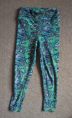 LuLaRoe (USA) leggings road and town print size S/M (2-4)