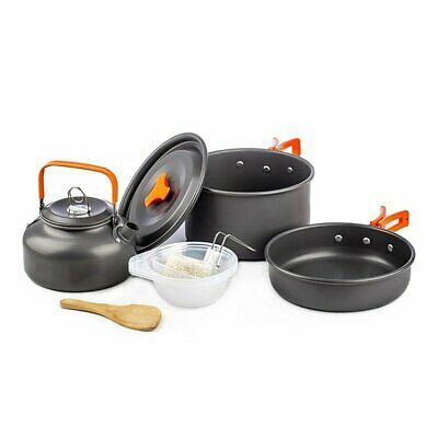 DS-308 Cookware Compact Durable Outdoor Camping Hiking Backpacking Pot  4Z