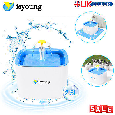 Automatic Cat Water Fountain Pet And Dog Fresh Drinking Bowl Replacement Filter