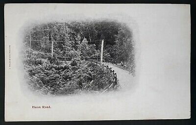 Rare Undated Tasmania Australia Unused Post card with Photo scene Huon Road.