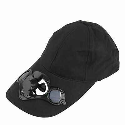 Solar Power Sport Outdoor Hat Cap With Solar Sun Power Cool Fan For Cycl SC
