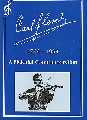 Carl Flesch 1944-1994 - A Pictorial Commemoration - 56 Pages - Symposium Records