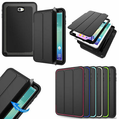 For Samsung Galaxy Tab SM-T560/T580/T590/T710/T820 360° Full Hybrid Smart Case