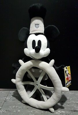 Disney Store Japan Steamboat WillieMickey Mouse 90th Anniversary plush memories