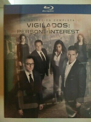 Vigilados Person of Interest Blu Ray Serie Completa Nuevo -10% dto dentro+Regalo