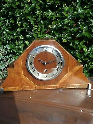 Beautiful Westminster And Whittington Chime Mantle Clock Fully Restored