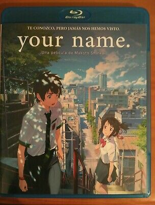 Your name. Blu Ray como nuevo