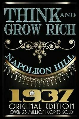 NEW Think and Grow Rich - Original Edition By Napoleon Hill Paperback