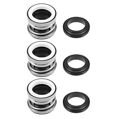 Mechanical Shaft Seal Replacement for Pool Spa Pump 3pcs 104-25