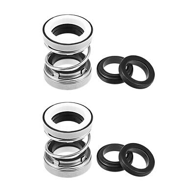 Mechanical Shaft Seal Replacement for Pool Spa Pump 2pcs 202-25