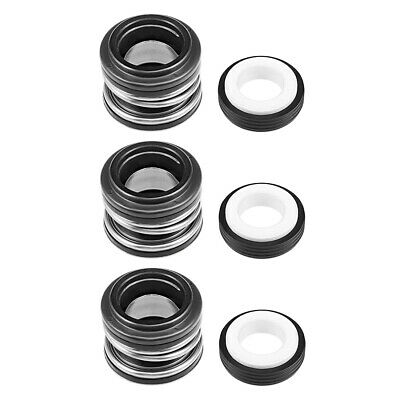 Mechanical Shaft Seal Replacement for Pool Spa Pump 3pcs XJ-16