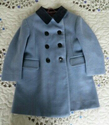 Vintage classic royal tailored tweed pea coat - by Chilprufe for Harrods