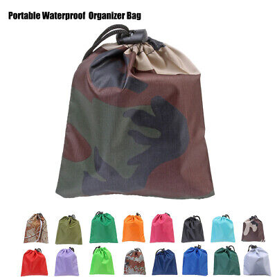Multicolor Organizer Bag Fits 20-80L Backpack Rain Cover Portable Waterproof
