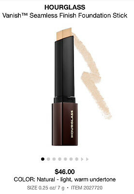Hourglass • Vanish • Seamless Finish Foundation Stick • Color Natural