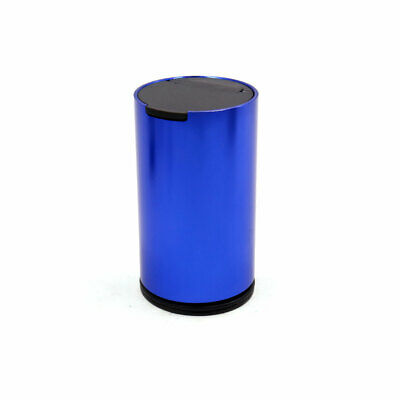 Blue Aluminum Alloy Car Smoke Ashtray Cigarette Ash Holder Container Cup