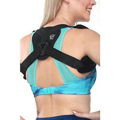 Posture Corrector Adjustable Back Support Clavicle Brace Belt Men&Women CA SLR !