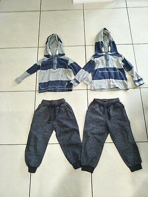 Pumpkin Patch Boy's Hoodies And Pants Size 3-4