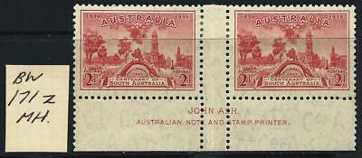 AUSTRALIA - 1931 Kingsford Smith 2d 'RED'  ASH Imprint SG 161 MH [5660]