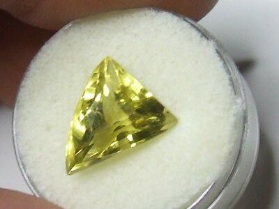 Yellow quartz free-form shaped gemstone..5.7 Carat