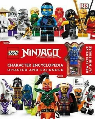 NEW Lego Ninjago Character Encyclopedia By Claire Sipi Book with Other Items
