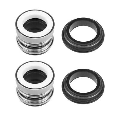 Mechanical Shaft Seal Replacement for Pool Spa Pump 2pcs 104-15