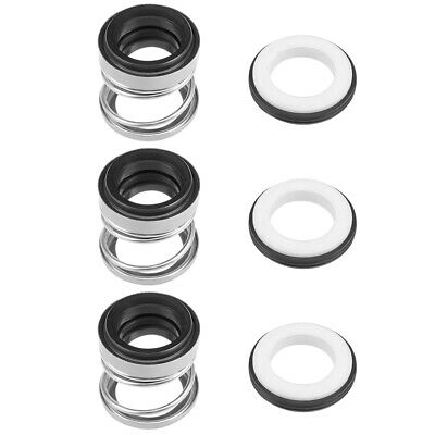 Mechanical Shaft Seal Replacement for Pool Spa Pump 3pcs 108-16