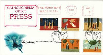 1996 Christmas - RM - The Word Was Made Flesh Meter Mark + Bethlehem H/S