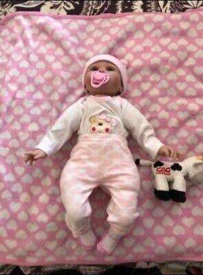 Beautiful Kaydora reborn doll with clothes and accessories