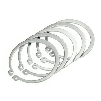 74.7mm External Circlips C-Clip Retaining Snap Rings 304 Stainless Steel 5pcs