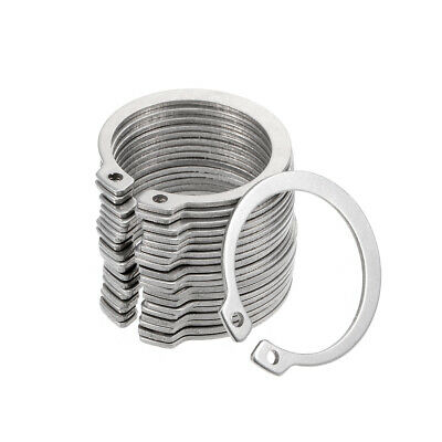 40mm External Circlips C-Clip Retaining Snap Rings 304 Stainless Steel 20pcs