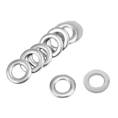 500Pcs 3mm x 6mm x 0.8mm 304 Stainless Steel Flat Washer for Screw Bolt