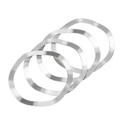 4Pcs 39mm x 46mm x 0.5mm 304 Stainless Steel Wave Crinkle Spring Washer