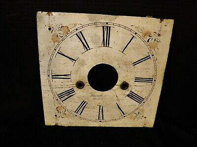 Wood Face dial for Weight Driven Ogee Forrestville Clock