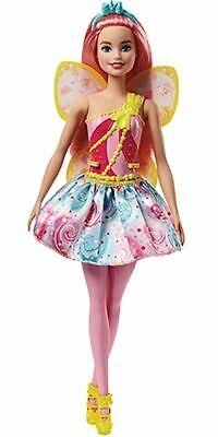Barbie Dreamtopia Fairy Doll Pink Hair Brand New fast Postage